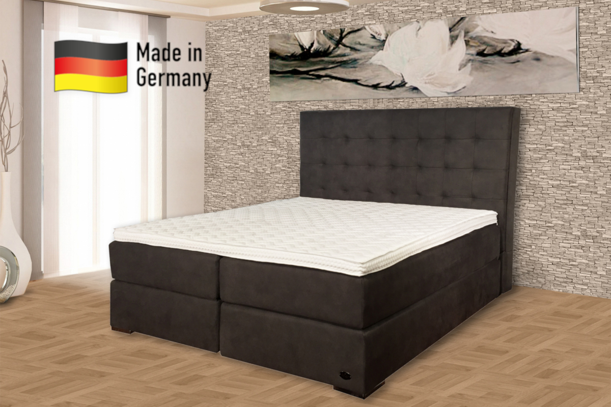 boxspringbetten k ln ron lion kaufen sie beim hersteller. Black Bedroom Furniture Sets. Home Design Ideas